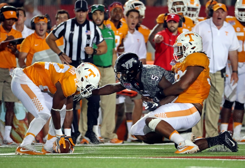 Tennessee Football Top 10 Players On Vols Roster From Georgia