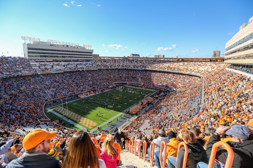 Nov 19, 2016; Knoxville, TN, USA; General view before the game between ...