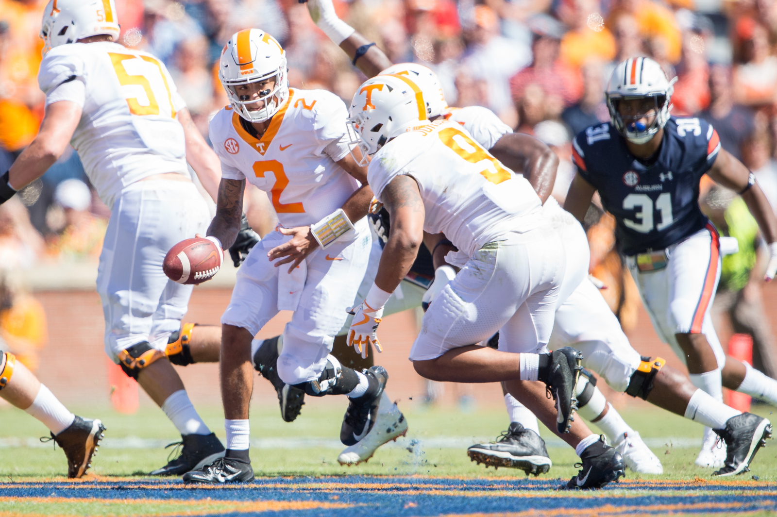 Tennessee football: Vols-Tigers by the numbers, career day ...