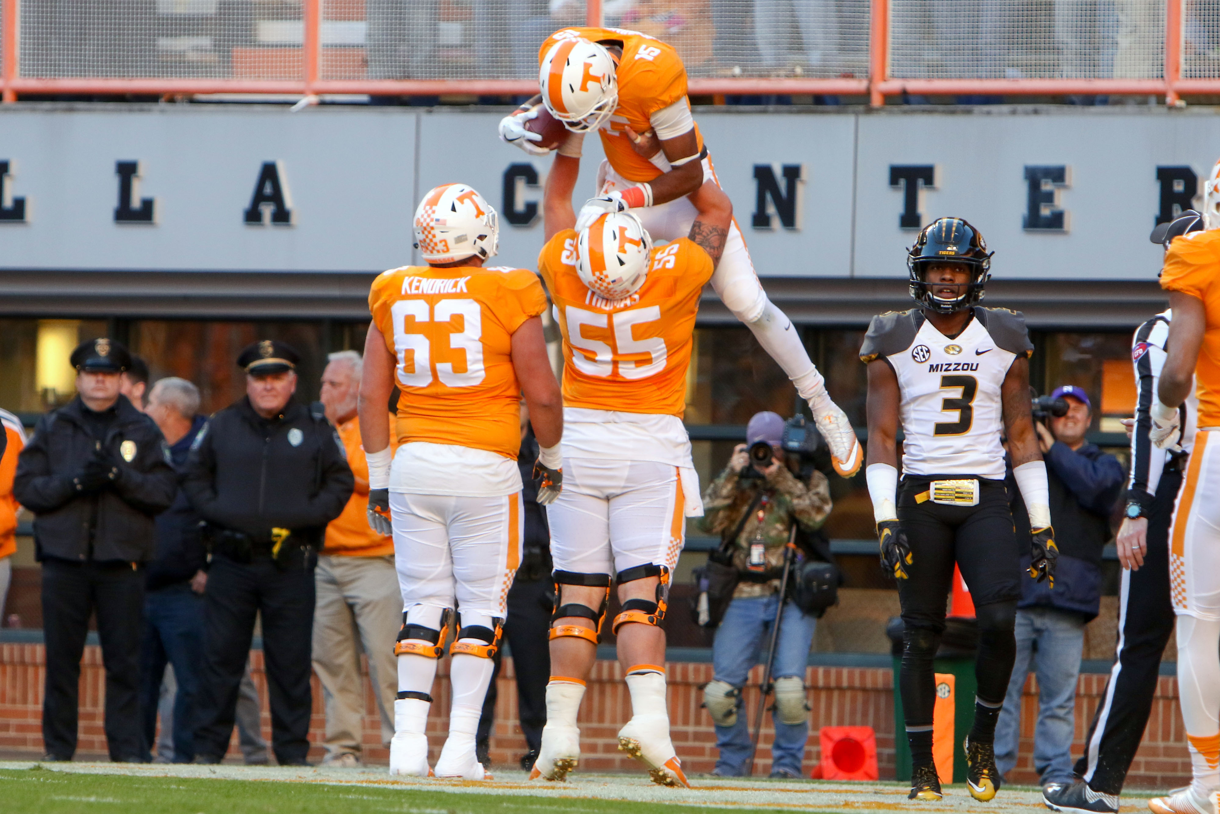 Tennessee Football Projecting The Vols 2017 2 Deep Depth Chart