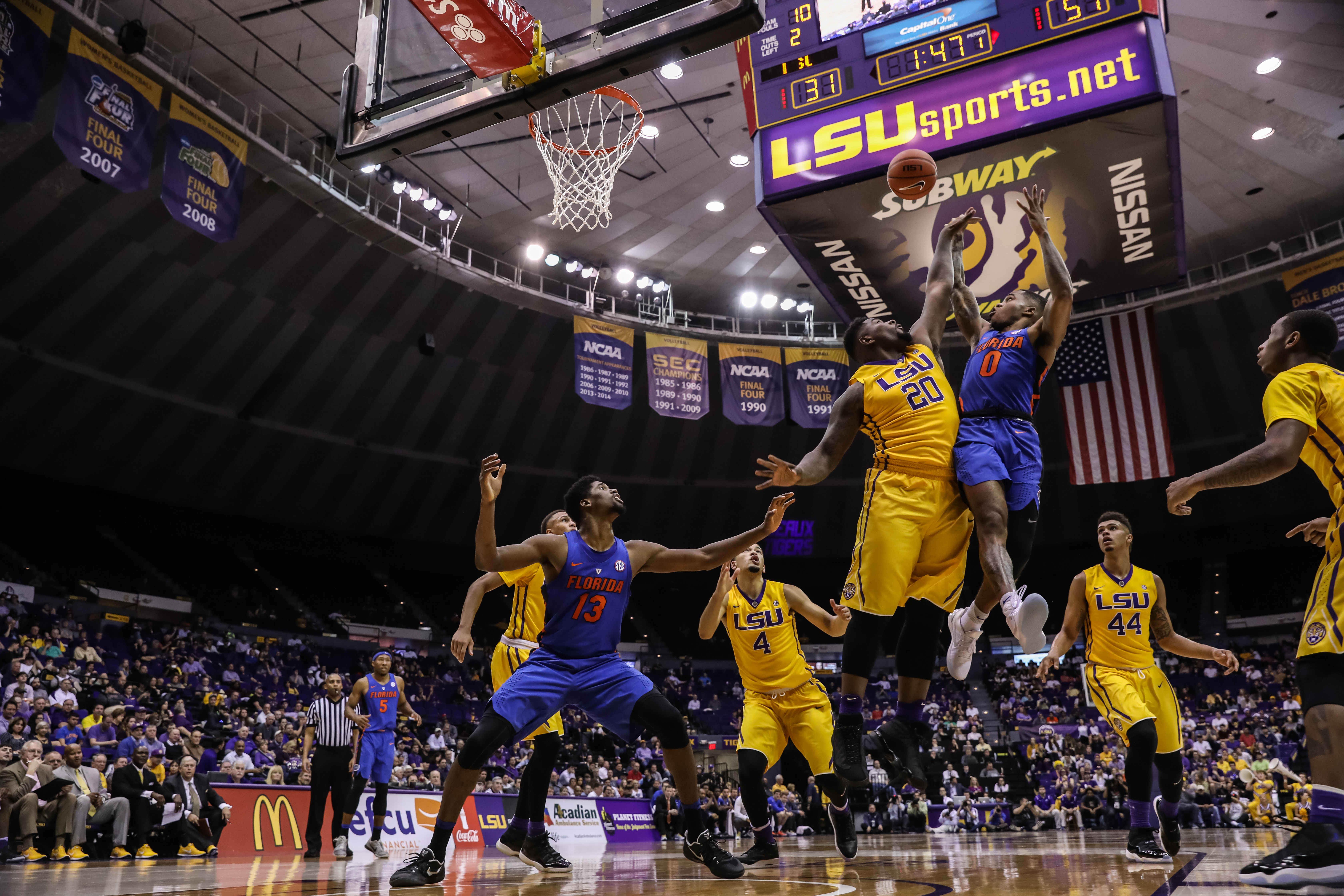 Jan 25 2017 Baton Rouge LA USA Florida Gators Guard Kasey